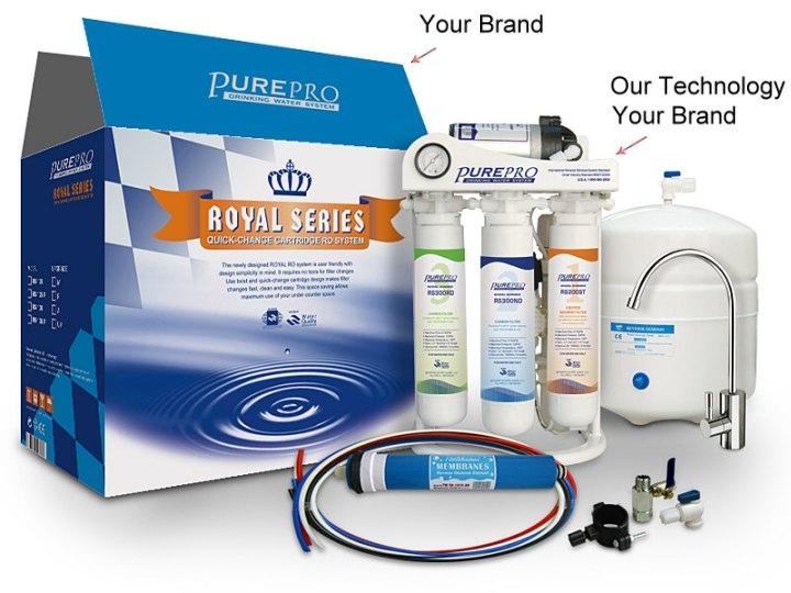Water Purification Products Under Your Own Brand Name The Private Label Reer Program Can Potentially Increase Service Offerings To