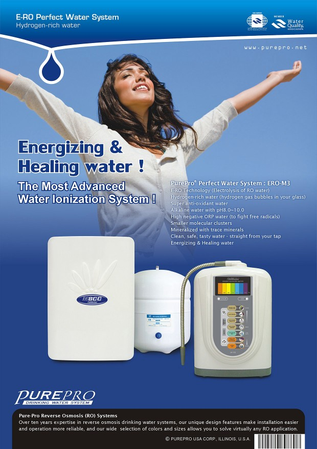 PurePro® E-RO Hydrogen Water System ERO-M3