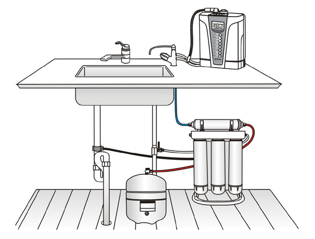 Purepro 174 Best Pre Filtration For Water Ionizer Ers 105 Nf
