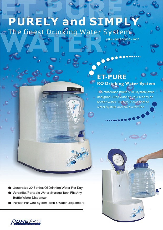 Purepro 174 Reverse Osmosis Water Filter Systems Et Pure
