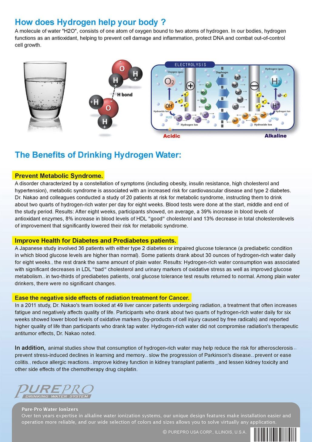 Purepro 174 Hydrogen Water Machine Ja 703