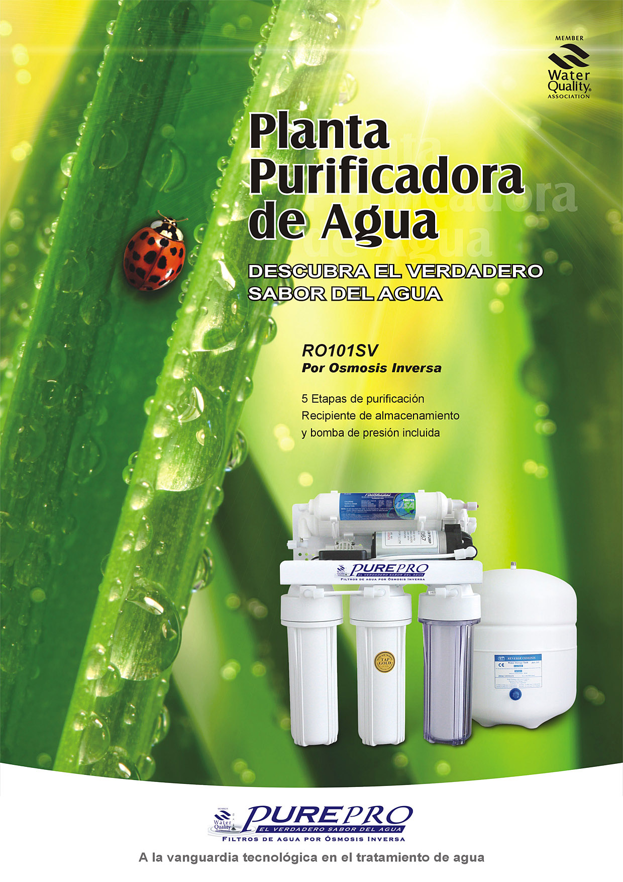 PurePro&#174... Reverse Osmosis Water Filter