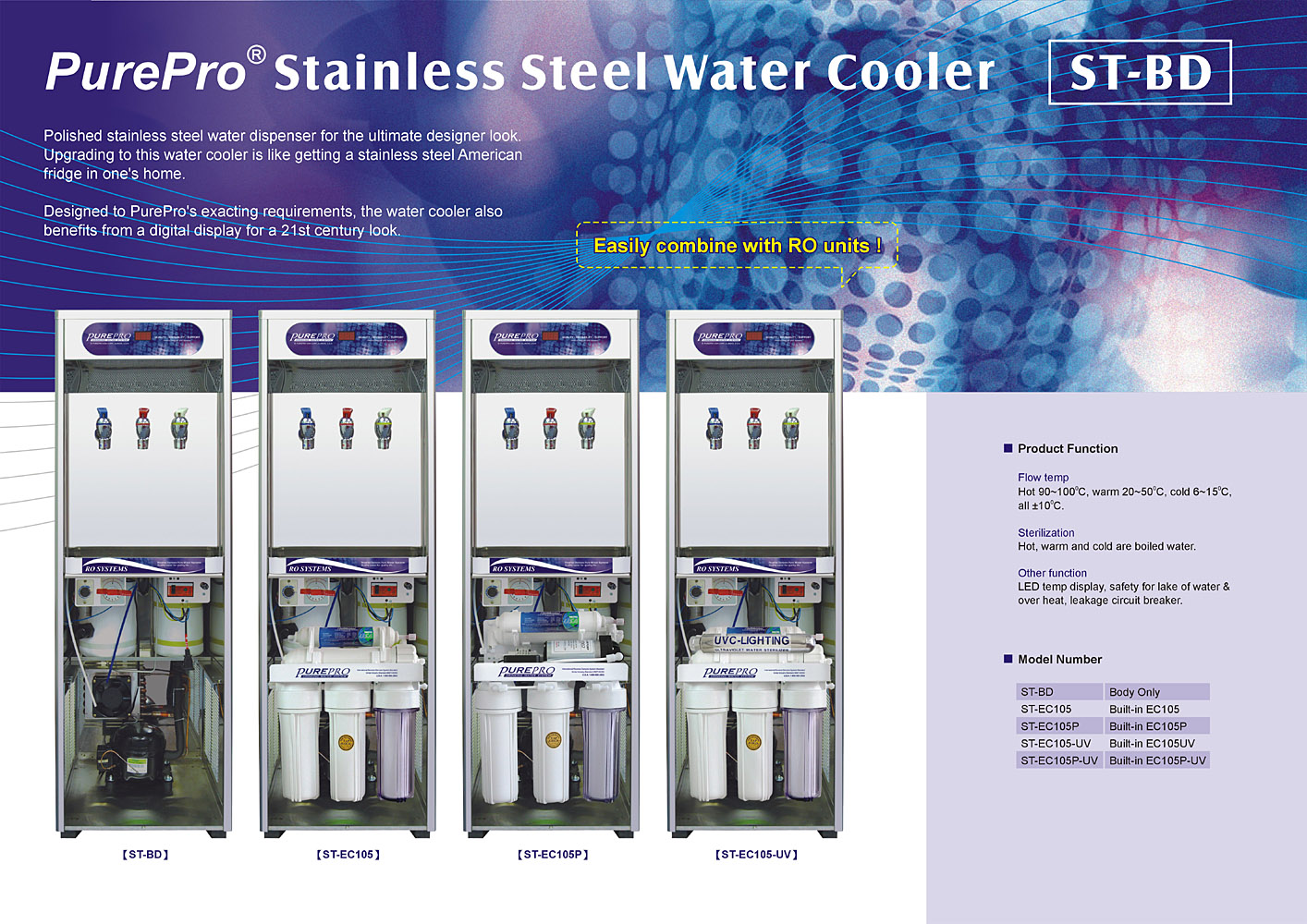 Purepro 174 St Bd Reverse Osmosis Water Filter Systems