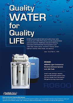Purepro 174 Usa Reverse Osmosis Ro Water Filters Posters