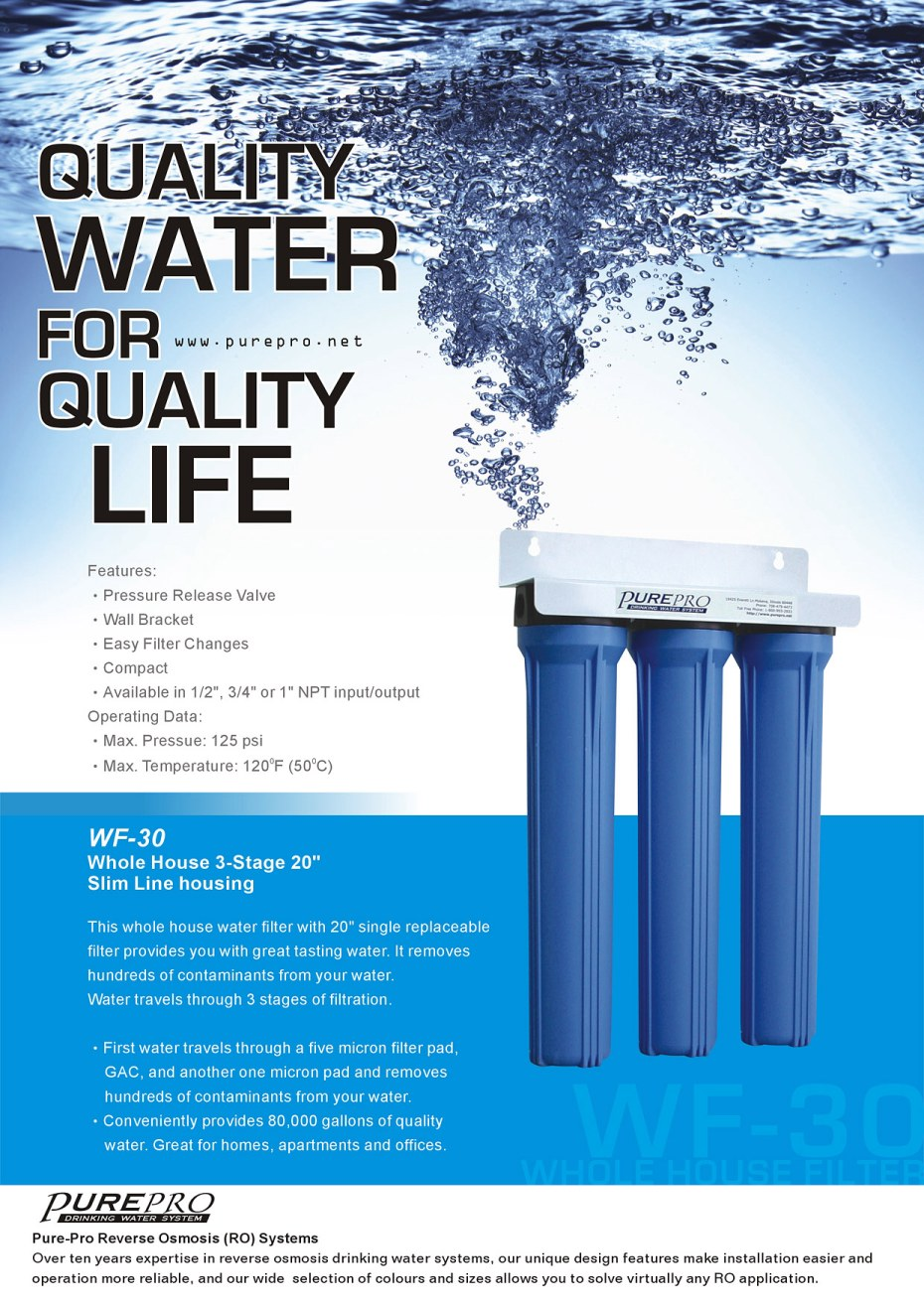 PurePro® Reverse Osmosis Water Filter Systems - US Manufacturer