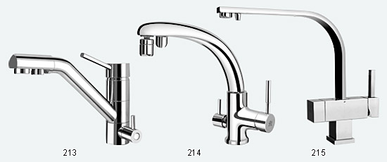 Merveilleux 3 In 1 Faucet (Hot, Cold, RO Water)