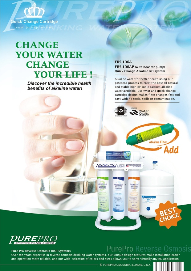 PurePro® Quick-Change Reverse Osmosis Water Filter Systems